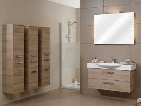 Beaufiful plafones ba o pictures espejos de bano con for Plafones led pared bano